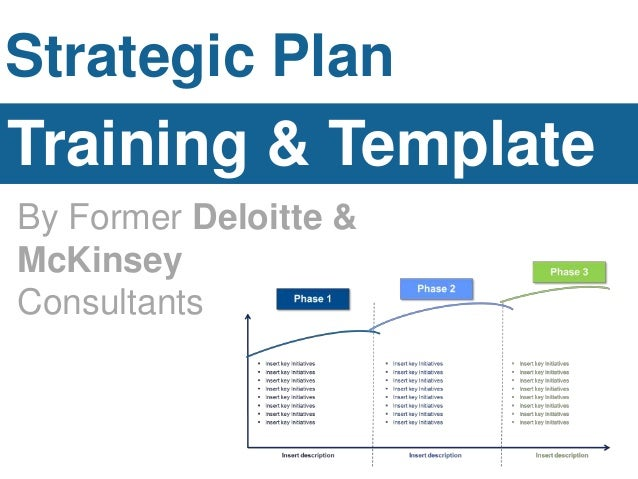 Strategic plan template for It strategic plan template powerpoint