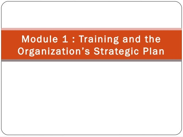 Strategic training   shrm