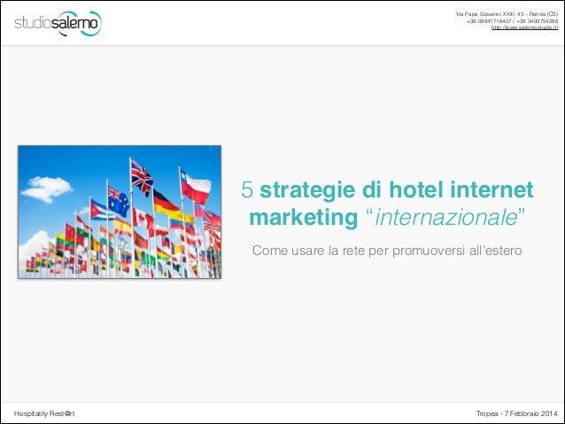 Web marketing turistico internazionale: 5 strategie con consigli pratici