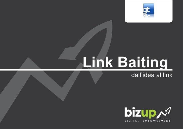 Strategie di link baiting. dall'idea al link