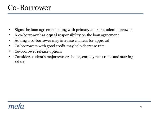 Sample Release Letter For Co Borrower Student Loan
