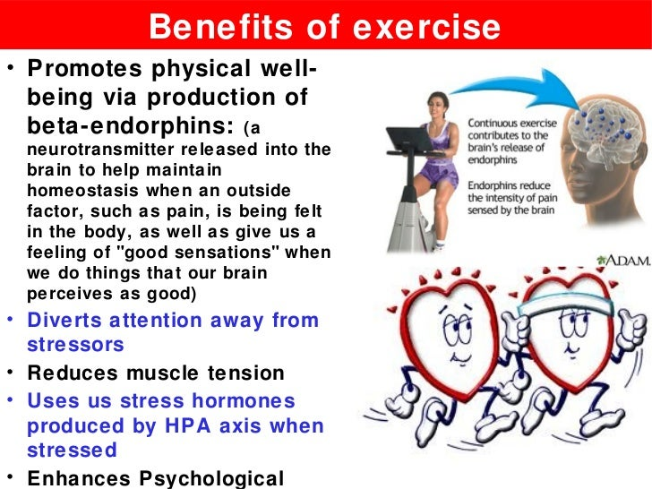 the benefits of physical exercise