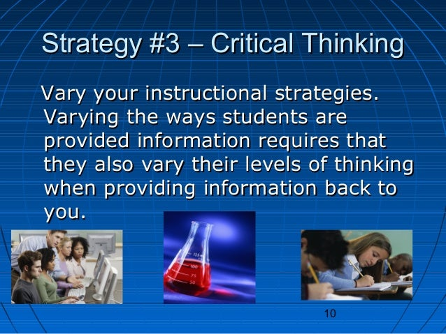 Strategies To Promote Critical Thinking in the Elementary - P21