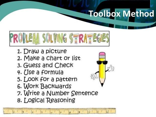 Working backwards problem solving worksheet