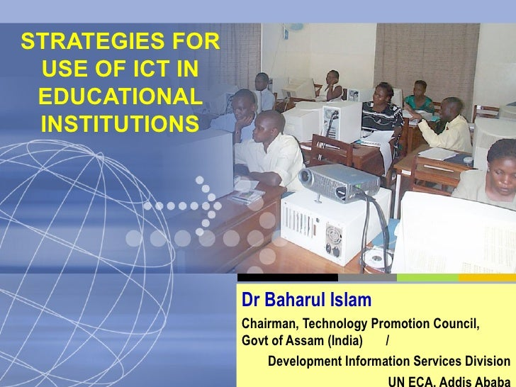 Strategies For Use Of Ict In Edn Ictes 2004