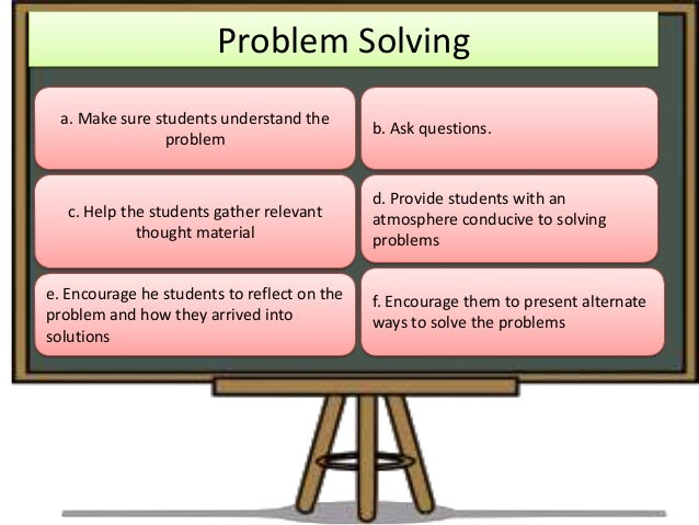 problem solving methodology and techniques