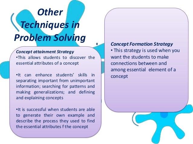Problem Solving As A Teaching Method