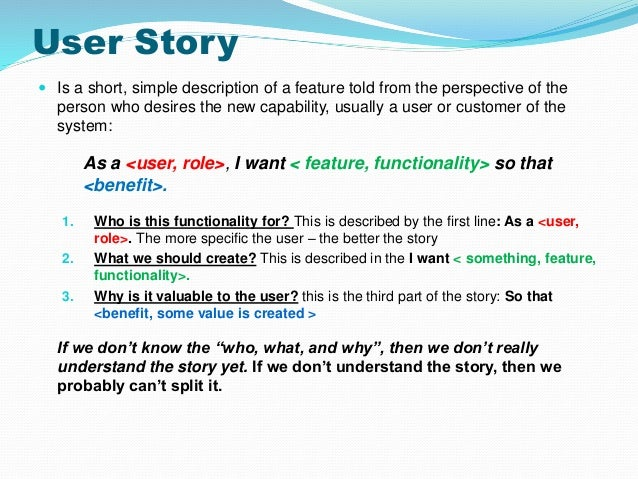User Story Template | Cyberuse