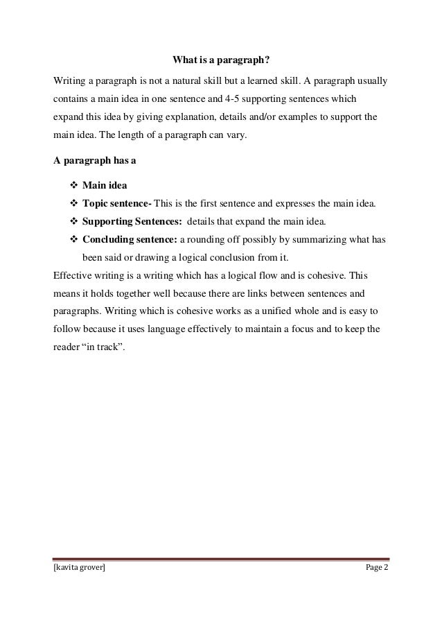 Strategies to teach paragraph writing to primary students ...
