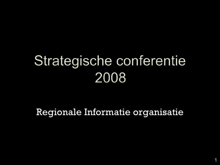 Regionale Informatie organisatie