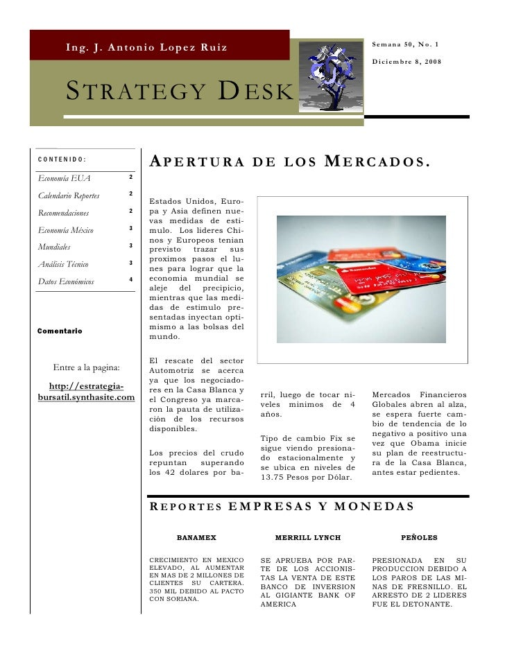 Strategy Desk Dic 8