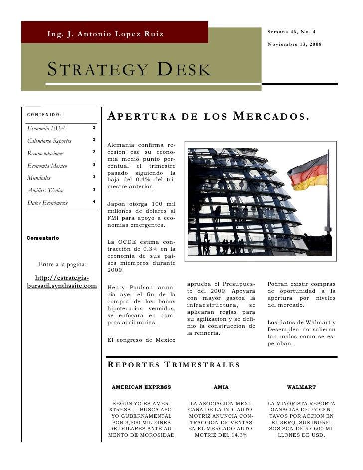 Strategy Desk Nov 13