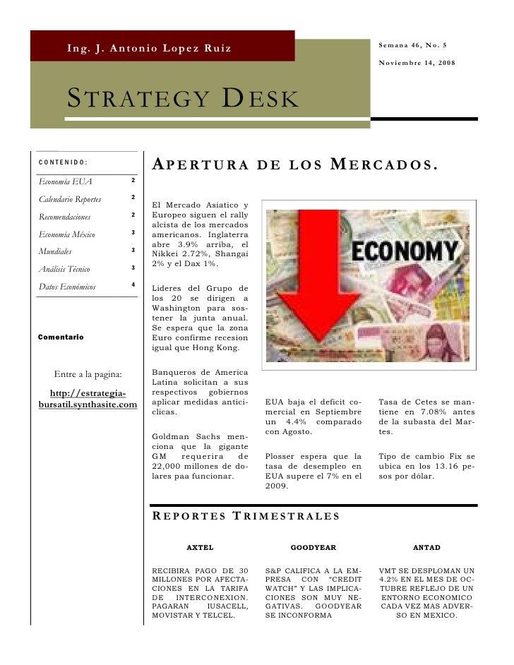 Strategy Desk Nov 14