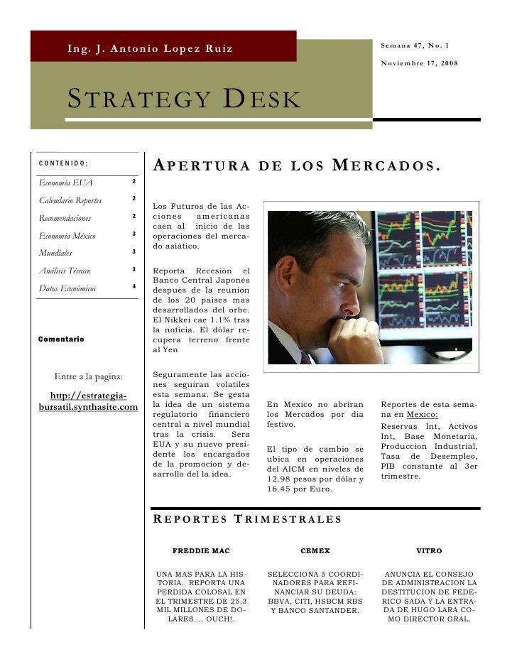 Strategy Desk Nov 17