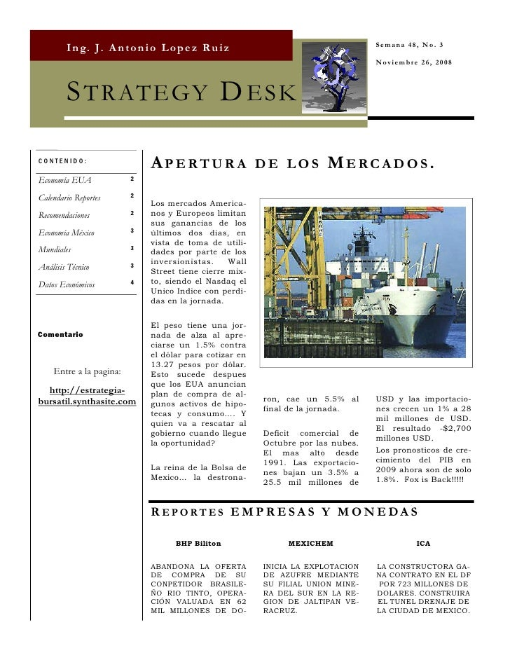 Strategy Desk Nov 26