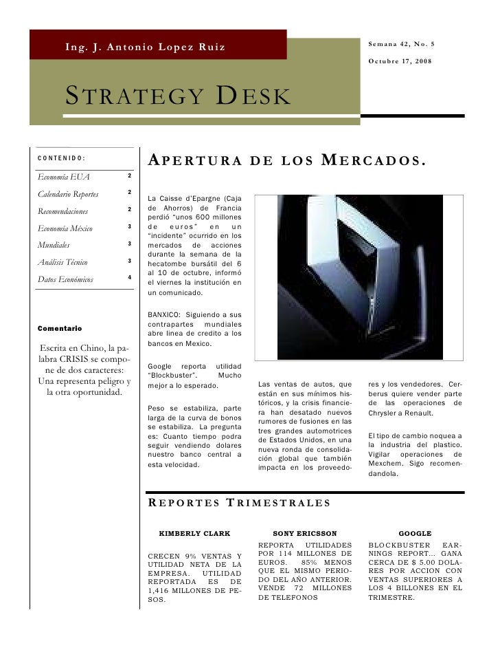 Strategy Desk Oct 17
