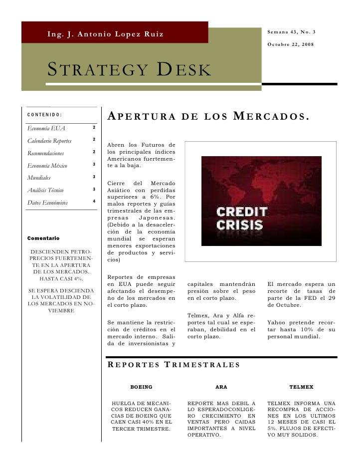 Strategy Desk Oct 22