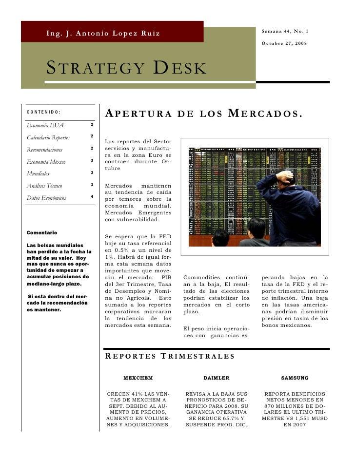 Strategy Desk Oct 27