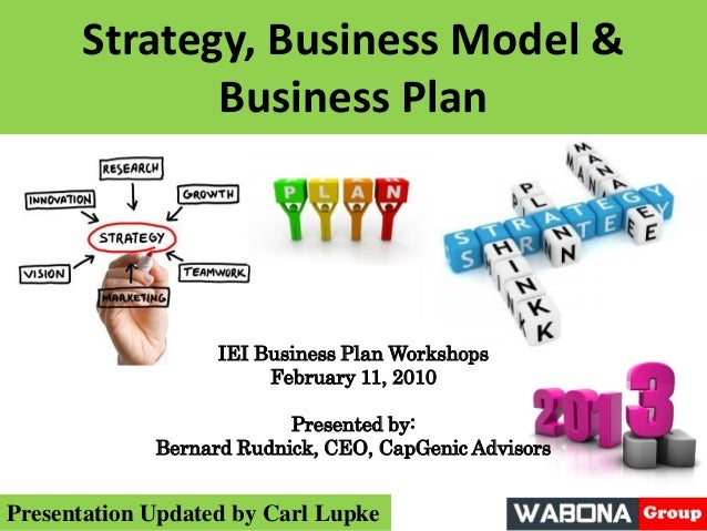 Strategy business plan