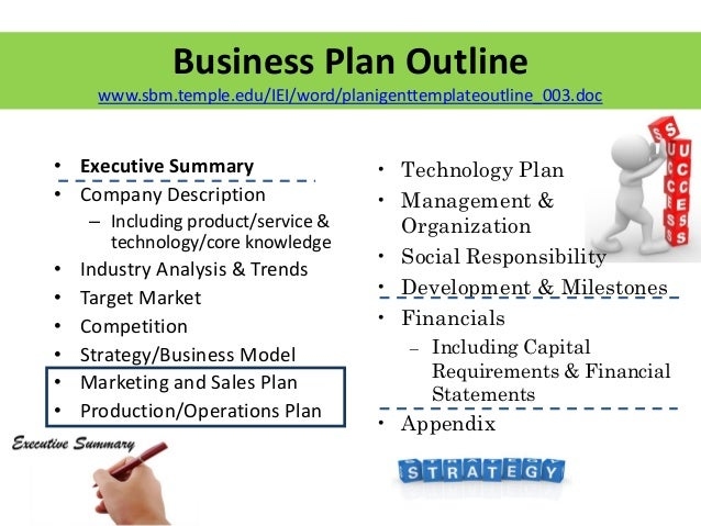 Sales business plans