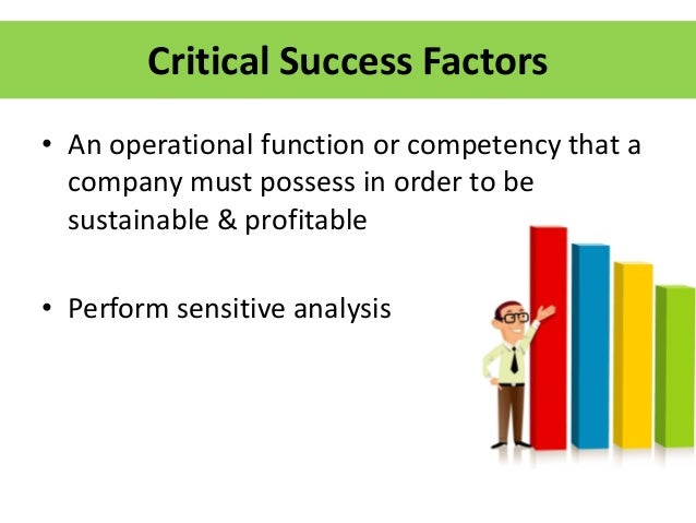 critical factors that determine the successful