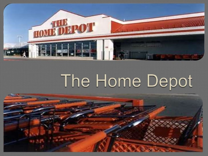 Analysis of Home Depot
