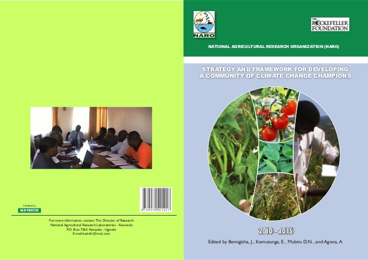 NATIONAL AGRICULTURAL RESEARCH ORGANIZATION (NARO)                                                                        ...
