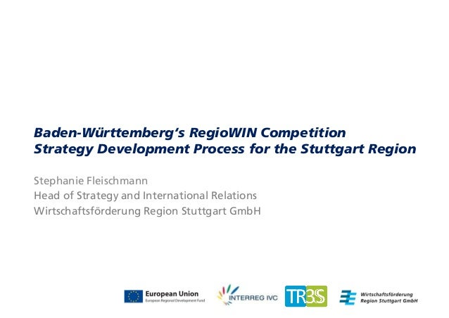 Strategy development process for the stuttgart region