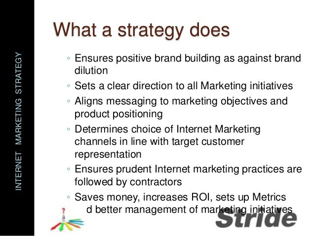 Describe the role internet marketing has within a modern marketing context?