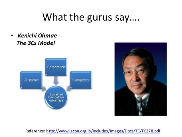 kenichi ohmae Das von kenichi ohmae als internationa- lisierungsstrategie entwickelte konzept der triade geht davon aus,.