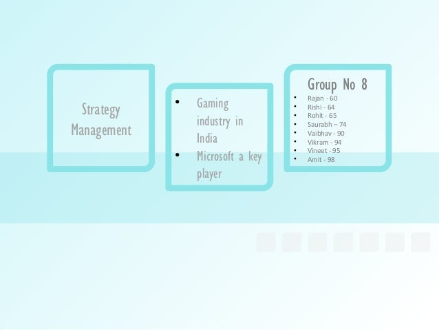 Group No 8                                   •             •   Gaming                Rajan - 60  Strategy                 ...
