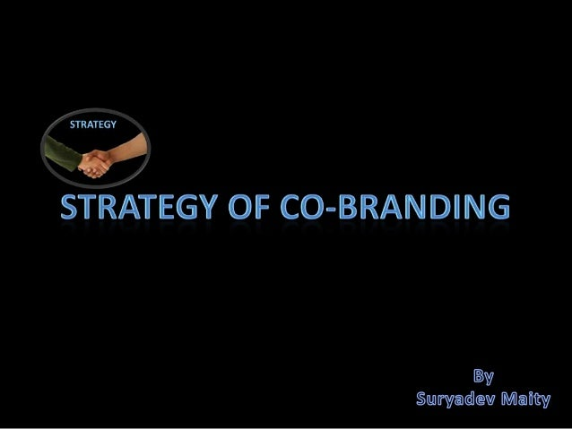 Strategy of co branding