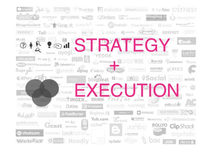 STRATEGY!   +!EXECUTION!