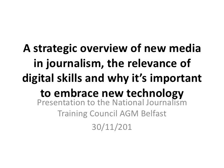 Strategy social media and journalism