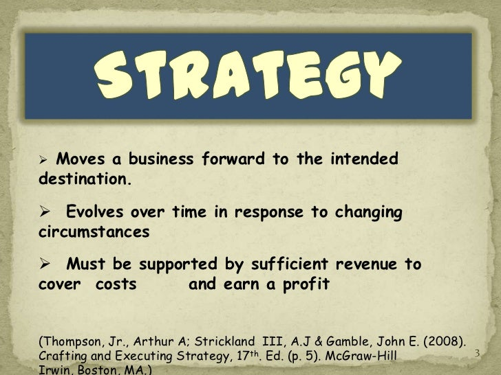 What is strategic business planning