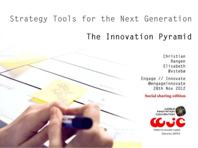 Strategy Tools for the Next generation Cannes
