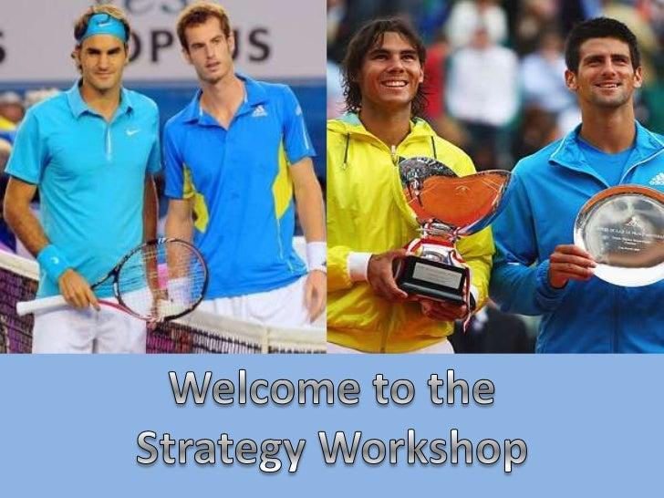 Strategy workshop presentation - Business Link Essential Top Tips event