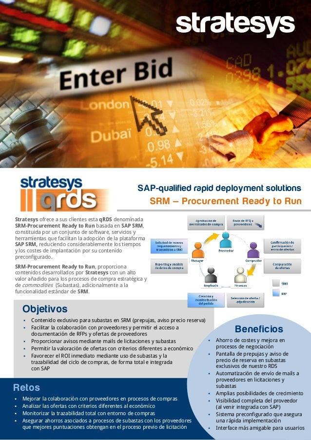 Stratesys RDS SAP SRM - Procurement Ready to Run