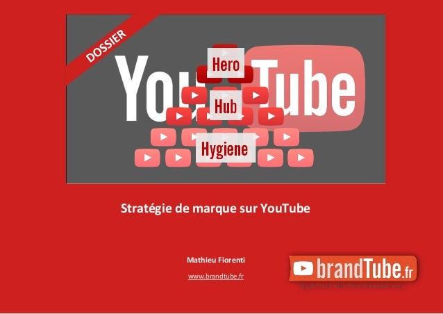 Mathieu Fiorenti www.brandtube.fr Stratégie de marque sur YouTube