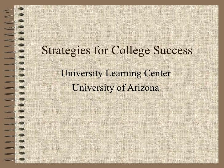 Strats for college succ [e doc find.com][1]