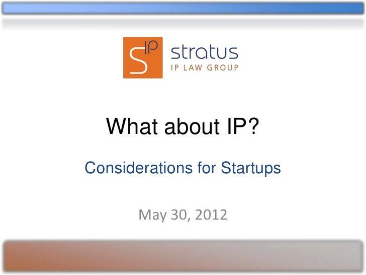 Stratus IP Law Group at District I/O on May 30