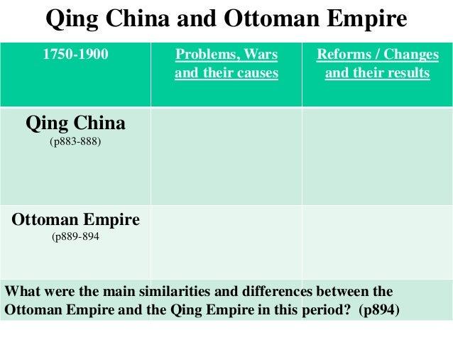Strayer comparing ottoman&qing