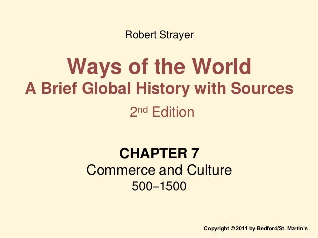 strayer world history chapter 11 Summary of chapter 11 from ap world history book, ways of the world by robert w strayer chapter 11 pastoral peoples on the global stage: mongol monument 1200.