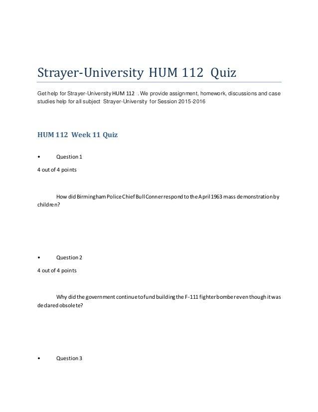 hum 112 quiz 2 Buy hum 112 week 4 quiz 3 for $15 hum 112 week 4 quiz 3.