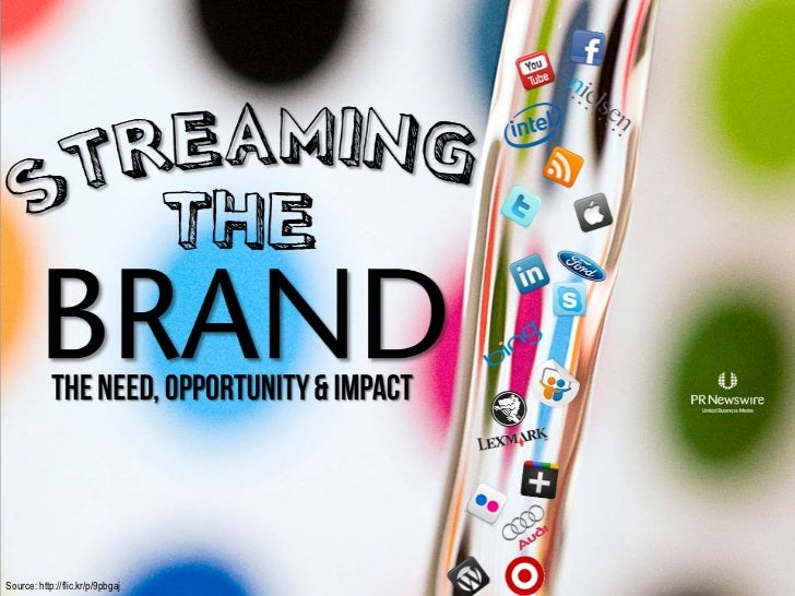 Streaming The Brand: The Need, The Opportunity, The Impact – Presentation by PR Newswire Global Director of Emerging Media, Michael Pranikoff, at the PRSA 2011 International Conference