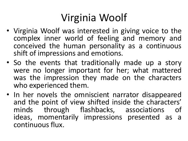 Virginia woolf essays