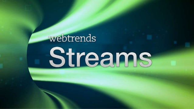 Webtrends Streams - Product Launch at DAA Chicago
