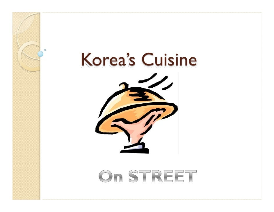 Korea's Cuisine
