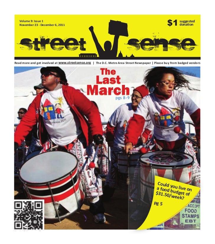 Volume 9: Issue 1   November 23 - December 6, 2011                                                                  $1 sug...