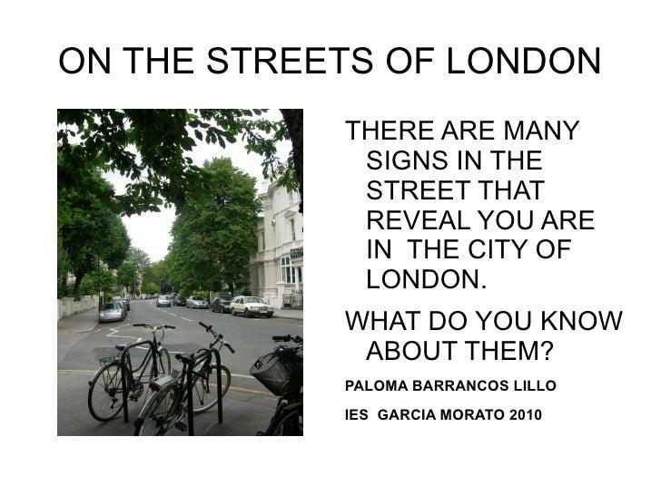 Street Signs In London City, Last Version